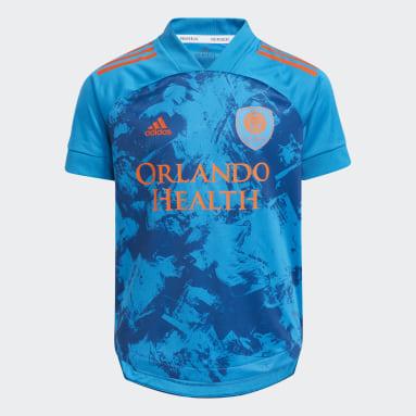 Youth Soccer Blue Orlando City SC 21 PrimeBlue JSY Y