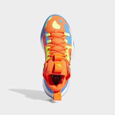 Kids Basketball Orange Harden Step-Back 2.0 Shoes