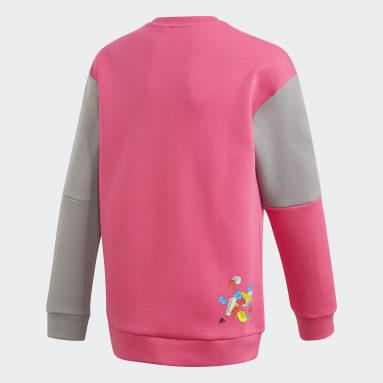 Sweat-shirt adidas x Classic LEGO® Bricks Bordeaux Enfants Fitness Et Training