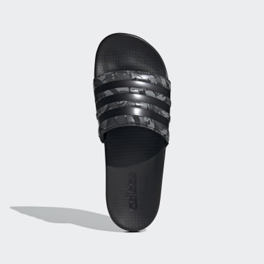 Men Swimming Grey Adilette Comfort Slides