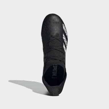 Chaussure Predator Freak.3 Terrain souple noir Enfants Soccer