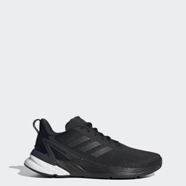 ผู้ชาย วิ่ง สีดำ รองเท้า Response Super