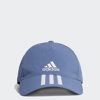 Cappellino AEROREADY 3-Stripes Baseball Blu Hockey Su Prato