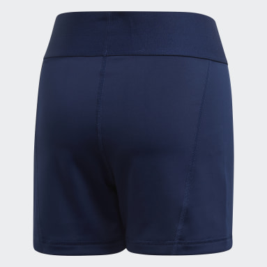 Children Volleyball Blue Alphaskin Volleyball Shorts