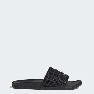 Sandale Adilette Comfort noir Yoga