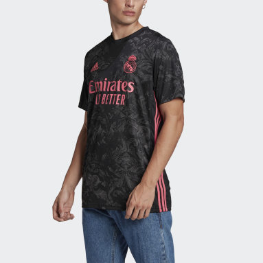 Jersey Tercer Uniforme Real Madrid 20/21 Negro Hombre Fútbol