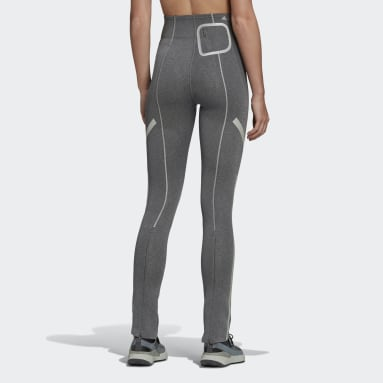 Tight Urban Extreme Flared Gris Femmes adidas by Stella McCartney