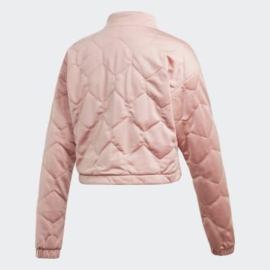 Women Originals Pink Cropped Sweatshirt