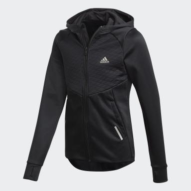 Veste à capuche AEROREADY Full-Zip noir Adolescents Entraînement