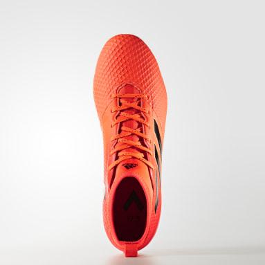 Calzado de Fútbol ACE 17.3 Terreno Firme Naranja Hombre Fútbol