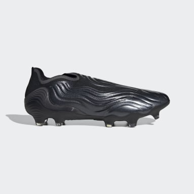 Football Black Copa Sense+ Firm Ground Boots
