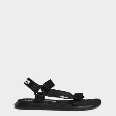 Sandali Comfort Nero Uomo Nuoto