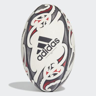 Ragby bílá Míč New Zealand Replica Rugby