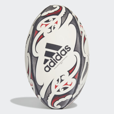 Rugby White New Zealand Replica Rugby Ball