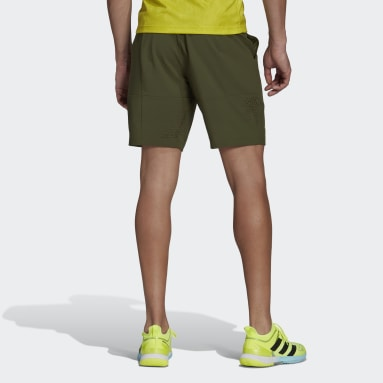 Men's Tennis Green Tennis Ergo Primeblue 9-Inch Shorts