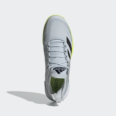 Men's Tennis White Adizero Ubersonic 4 Tennis Shoes
