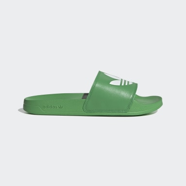 Men Originals Green Adilette Lite Slides