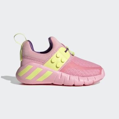 Děti Cvičení A Trénink růžová Boty adidas RapidaZen x LEGO®