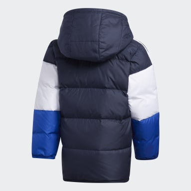Kids Gym & Training Blue Down Jacket
