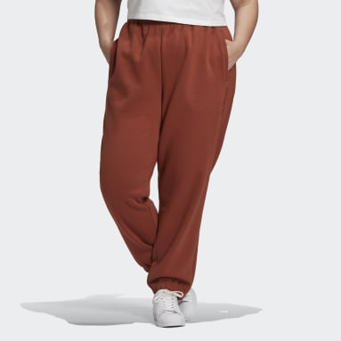 Women Originals Brown Cuffed Joggers