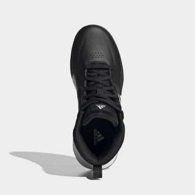 Kinderen Basketbal zwart Own the Game Wide Schoenen