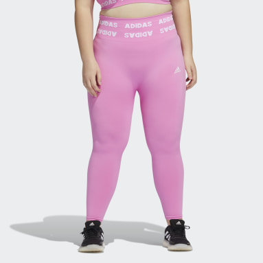Training Aeroknit 7/8 High-Rise Tights (Plus Size) Różowy