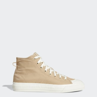 Originals Beige Nizza Hi RF Shoes