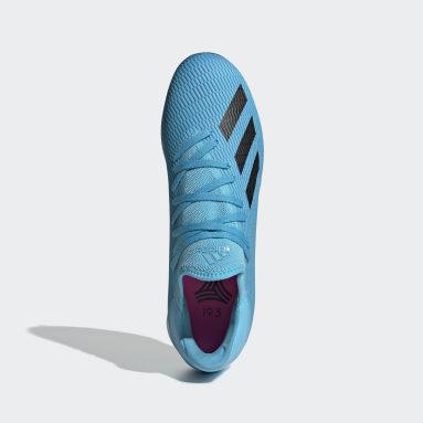 Calzado de Fútbol X 19.3 Césped Artificial Turquesa Hombre Fútbol