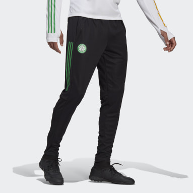 Men Football Black Celtic FC Training Pants