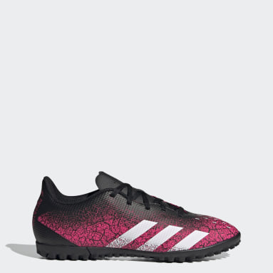 Zapatos de Fútbol Predator Freak.4 Pasto Sintético Rosado Hombre Fútbol