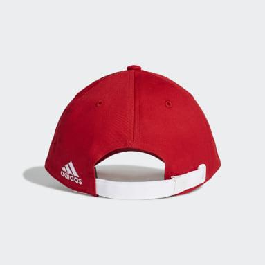 Fotbal červená Kšiltovka FC Bayern Baseball