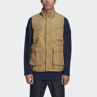 Veste sans manches Human Made Inflatable Beige Hommes Originals