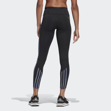 Women Running Black Own The Run Primeblue Running Leggings