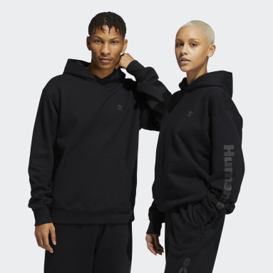 Sudadera con capucha Pharrell Williams Basics (Género neutro) Negro Originals