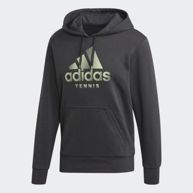 Men's Tennis Grey Hoodie
