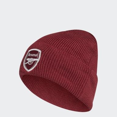 Fußball FC Arsenal Mütze Weinrot