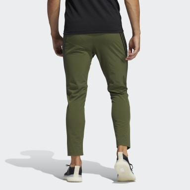 Men Training Green AEROREADY 3-Stripes Pants