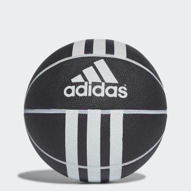 Basketbal Zwart 3-Stripes Rubber X Basketbal