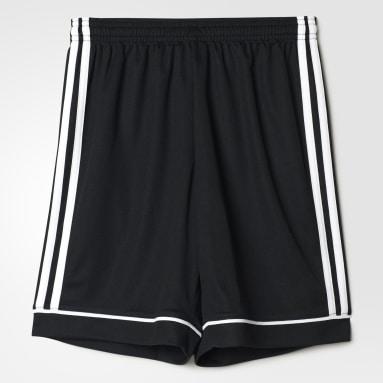 Youth 8-16 Years Gym & Training Black Squadra 17 Shorts