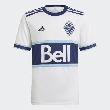 Maillot Domicile Vancouver Whitecaps FC 21/22 blanc Adolescents Soccer