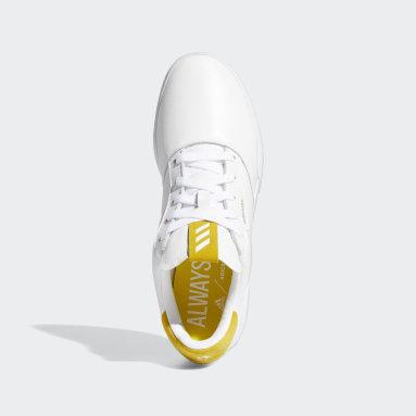 Heren Golf Wit Adicross Retro Golfschoenen