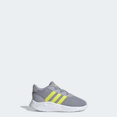 Kids Running Grey Lite Racer 2.0 Shoes