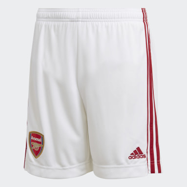 Kinderen Voetbal Wit Arsenal Thuisshort