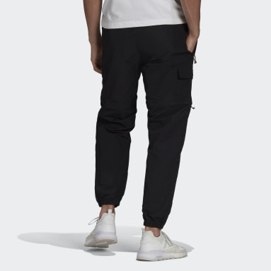 Men Originals Black R.Y.V. Utility 2-in-1 Pants