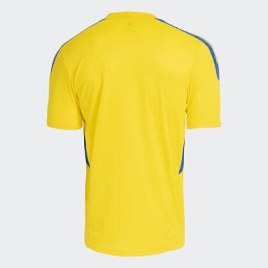 Camisa Treino Cruzeiro Amarelo Homem Futebol
