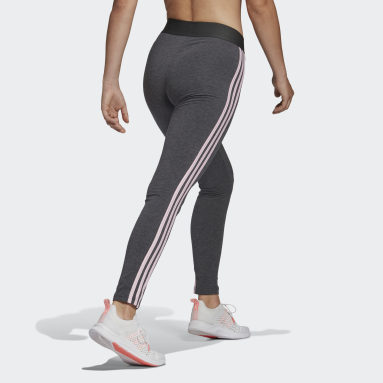 Kvinder Sportswear Grå LOUNGEWEAR Essentials 3-Stripes leggings
