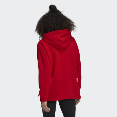 Women Originals Red Valentine's Day Hoodie