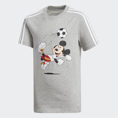 Football T-skjorte Grå