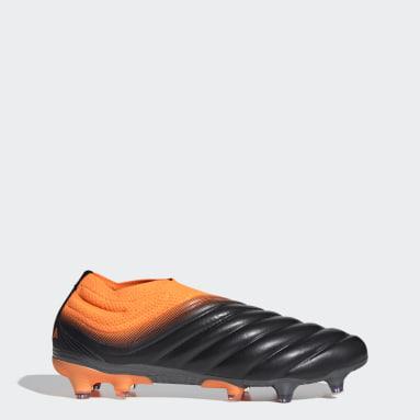 Men Football Black Copa 20+ Firm Ground Boots