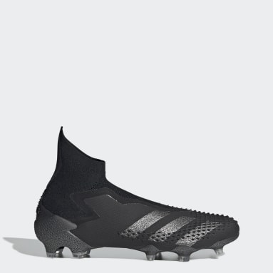 Women Football Black Predator Mutator 20+ Firm Ground Boots